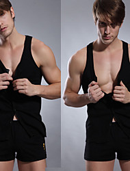 Men's Tight vest Body Sculpting Underwear Sleeveless High Quality Thread
