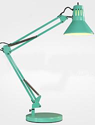Metal-Lámparas de Escritorio-Brazo móvil-Moderno/ Contemporáneo