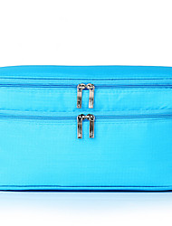 Luggage Organizer / Packing Organizer Waterproof for Travel Storage Fabric-Blue Blushing Pink Light Blue