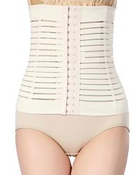 Shaperdiva Women's Breathable Waist Cincher Corset Belly Shaper Tummy Control Girdle Slim Shaper