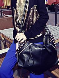 Черный-Сумка на плечо / Сумка-шоппер / Сумка-портфель / Клатч / Кошелек для монет / Сумочка-ристлет / Косметичка / Креста тела сумка /