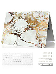 "3 in 1  Marble Full Body Case+ Keyboard Cover+Dust Plug for Macbook Air 11"" Retina 13""/15"""