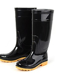 Men's Shoes Silicone Outdoor Boots Outdoor Black