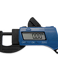 """12,7 milímetros / 0,5 """"de fibra de compósitos de carbono de espessura digital paquímetro micrômetro"""