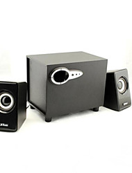 jituo madeira subwoofer USB Power 2.1 Spearker para o computador ipad ipod e jt2806yx tablet