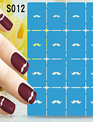 1pcs  New Nail Art Hollow Stickers Lips Bow-knot Cat Differenct Designs  Shape  Nail Art Beauty S011-S020