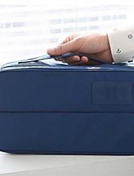 Organizador para Maletas / Bolsa de AseoForAlmacenamiento para Viaje Tejido Azul / Gris 30x17x12.5cm