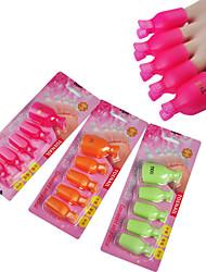 5pcs удобно и практично впитать от ногтя на пальце ноги клип (случайный цвет)