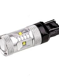 lancia land rover Auto 12v 7443 Cree 30w Auto-LED-Signallampe Auto Bremse LED-Lampe sichern Licht mit weißer Farbe drehen