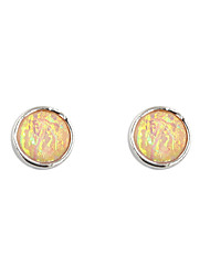 Earring Stud Earrings Jewelry Women Wedding / Party / Daily / Casual / Sports Alloy / Resin 1 pair Silver