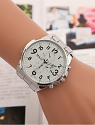 Men's Fashion Watch Alloy Band Watch Wrist Watch Cool Watch Unique Watch