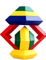 Plastic Toy Assembly Variety Urn NI Era Diamond White House Building