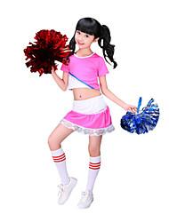 Accesorios(Azul / Rosa,Poliéster,Vestidos de Cheerleader) -Vestidos de Cheerleader- paraNiños Plisado Representación