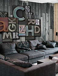 Art Decó Papel pintado Retro Revestimiento de pared,Otro Large Abstract Mural Wallpaper Mural