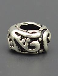 accessoires bijoux bracelet de perles collier en argent diy vert perles de Murano de motif de marine hac0047