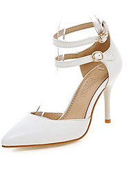 Women's Spring Summer Fall Leatherette Wedding Dress Casual Athletic Stiletto Heel Blue Pink White