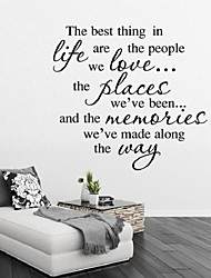 Wall Stickers Best Life Quotes To Decorate The Living Room Bedroom Wall Stickers