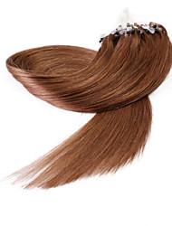 neitsi® 20inch micro anneau boucles extensions de cheveux humains sonne cheveu humain 33 #