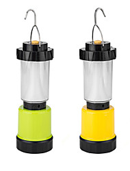 USB Rechargeable AA Battery Powered Multi Function Outdoor Camping Lamp