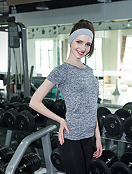 Tee Segment Dyed T-shirt Wicking Quick-Drying Yoga Clothes Fit Running Short Sleeve Casual Clothes