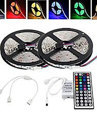 10m 150x5050 wasserdicht SMD RGB LED-Streifen und 44key Fernbedienung and1bin2 Verbindungsleitung (12 V DC)