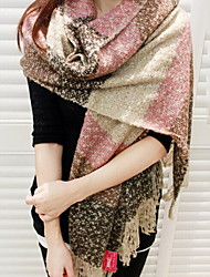 Korean Mohair Warm Spell Color Fashion Scarves Long Oversized Scarf