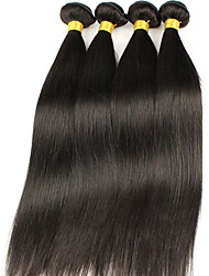 Peruvian Virgin Hair Straight 4Pcs 7A Unprocessed Virgin Peruvian Straight Hair,Cheap Price Human Hair Extension