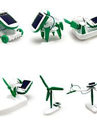 6 1 juguete juguete creativo solar bricolaje