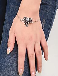 Bracelet Manchettes Bracelets Alliage Quotidien / Décontracté Bijoux Cadeau Argent,1pc