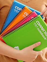 1PC Students Wrong Topic Per Notebook To Thicken The Edition Correction The Class Jotter