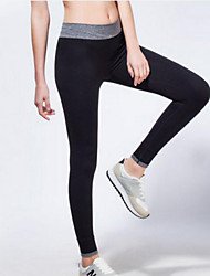 Women's Running Tights Leggings Bottoms Breathable Quick Dry Compression Yoga Exercise & Fitness Leisure Sports Running TightIndoor