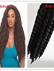 "Bulky Buy 12"" Havana Mambo Twist Crochet 2X Braids Kanekalon Twist Braiding Extension"