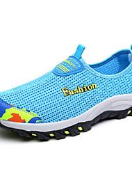 Unisex Loafers & Slip-Ons Leuchtende Sohlen paar Schuhe Tüll Sommer Herbst Lässig Schwarz Dunkelblau Purpur Rosa Königsblau 2,5 - 4,5 cm