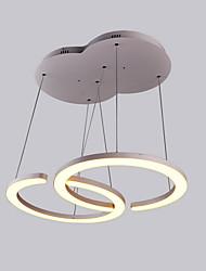 nuevo estilo comedor 90w luz de techo llevada