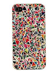 Per Custodia iPhone 5 Fantasia/disegno Custodia Custodia posteriore Custodia Geometrica Resistente PCiPhone 7 Plus / iPhone 7 / iPhone 6s