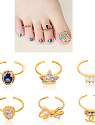 -Zehe-Andere Dekorationen-Andere-1pcs Toe Ring DecorationStück -normal sizecm
