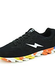 Men's Sneaker Shoes Tulle Black / Yellow / Green