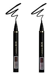 BOB® Waterproof Liquid Eyeliner  Fast Dry Black Eyes 1Pc
