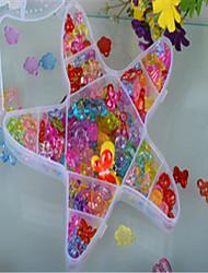 морские звезды с поделок бисером прозрачный кристалл детей сплетенный браслет раннего детства обучающие игрушки вручную