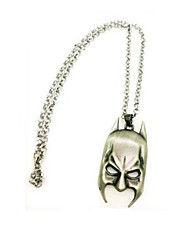 Batman Knight Mask Pendant Necklace Movie Cosplay Accessory