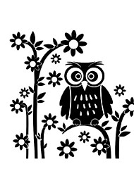 2016 Art Design Vinyl Owl Home Decor Wall Sticker Cheap House Decoration Animal Murals Decals