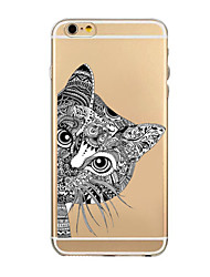 Dreamcatcher Pattern TPU Transparent Phone Case Back Cover Case for iPhone6/6S
