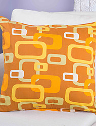 Cotton Pillow Cover ,  Printing Geometric