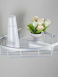Prateleira de Banheiro Anodização De Parede 33*23*18cm Aluminio Contemporâneo