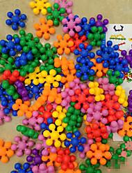 цветок сливы формы строительные блоки совместное вставлено пластиковые сборки образовательные игрушки детские игрушки
