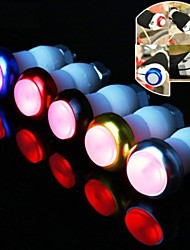 1Pair Bicycle Lights LED Turn Signal Light Cycling Safety Bike Handlebar Lights Lamp Flashlight