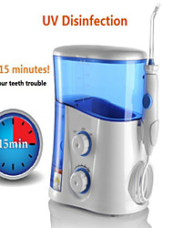 Oral Irrigator & Dental Water Flosser With UV Sanitizer & 1000ml Water Tank + 7 Tips With Adjustable Pressure