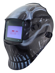 soldagem crânio preto ferramentas para fora de controle da bateria li energia solar auto escurecimento tig mig máscara de solda /