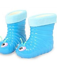 Women's Winter Rain Boots PVC Outdoor / Casual Blue / Pink
