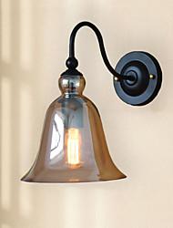 Stile Mini Lampade a candela da parete,Rustico E26/E27 Metallo